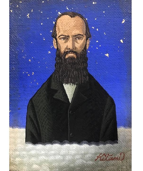 ドストエフスキー肖像画